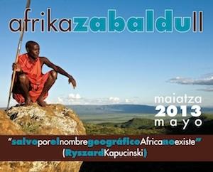 AFRIKA ZABALDU II – 2013 MAIATZA