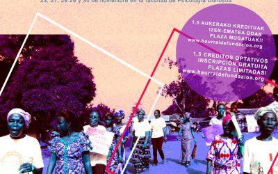 GIZA ESKUBIDEAK ETA 2030 AGENDA I. IKASTAROA // I CURSO EN DERECHOS HUMANOS Y AGENDA 2030