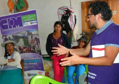 Taller agricultura ecologica Guaranguay