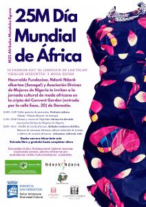 Haurralde Fundazioa, Ndank Ndank elkartea de Senegal y la Asociación Divinas de Mujeres Nigerianas organizan Día Africa