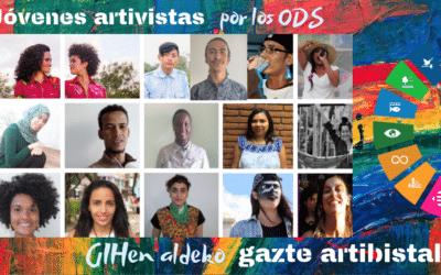 Jóvenes artivistas internacionales por los ODS
