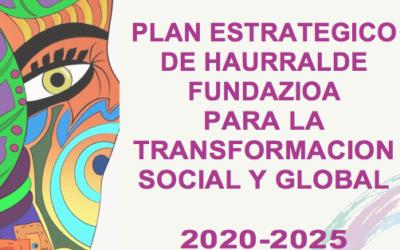 Plan estratégico para la transforma social y global.2020-25