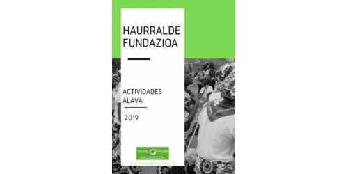 Memoria actividades 2019 - Araba